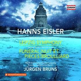 Hanns Eisler (1898-1962): Leipziger Symphonie, CD