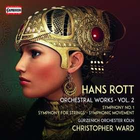 Hans Rott (1858-1884): Sämtliche Orchesterwerke Vol.2, CD