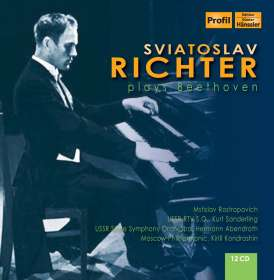 Svjatoslav Richter plays Beethoven, CD