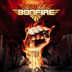Bonfire: Fistful Of Fire, CD