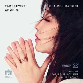 Ignaz Paderewski (1860-1941): Klavierkonzert op.17, CD