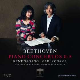 Ludwig van Beethoven (1770-1827): Klavierkonzerte Nr.1-5, CD
