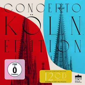 Concerto Köln - Berlin Classics Aufnahmen 2007-2017 (Vorab exklusiv für jpc), CD