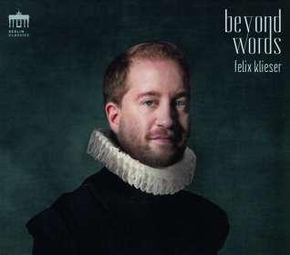 Felix Klieser - Beyond Words, CD