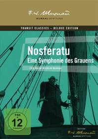 Friedrich Wilhelm Murnau: Nosferatu - Eine Symphonie des Grauens, DVD