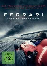 Daryl Goodrich: Ferrari: Race to Immortality (OmU), DVD