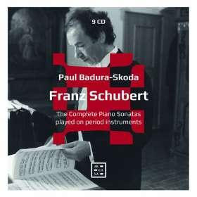 Franz Schubert (1797-1828): Klaviersonaten (Gesamtaufnahme), CD