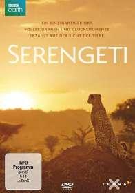 John Downer: Serengeti (2019), DVD