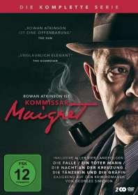 Kommissar Maigret (Komplette Serie), DVD
