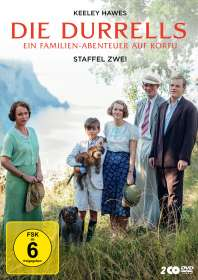 Steve Barron: Die Durrells Staffel 2, DVD
