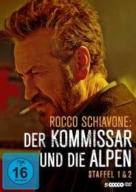 Michele Soavi: Rocco Schiavone Staffel 1 & 2, DVD