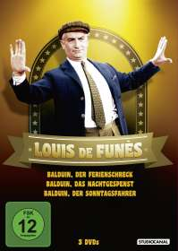 Louis de Funès - Balduin Collection, DVD