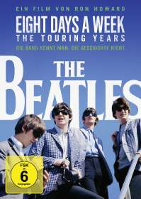 Ron Howard: The Beatles: Eight Days A Week - The Touring Years (OmU), DVD