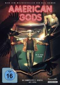 Christopher Byrne: American Gods Staffel 2 (Collector's Edition), DVD