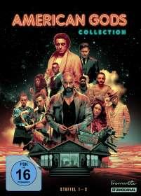 Christopher Byrne: American Gods (Komplette Serie), DVD