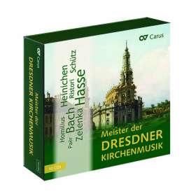 Meister der Dresdner Kirchenmusik (exklusiv für jpc), CD