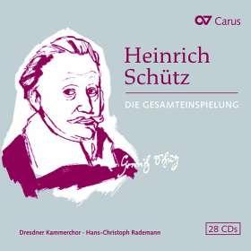 Heinrich Schütz (1585-1672): Das Gesamtwerk (Carus Edition), CD