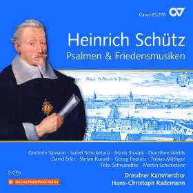 Heinrich Schütz (1585-1672): Psalmen & Friedensmusiken (Carus Schütz-Edition Vol.20), CD