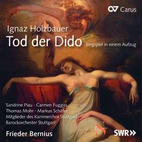 Ignaz Holzbauer (1711-1783): Tod der Dido (Singspiel in 1 Akt), CD
