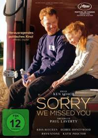 Ken Loach: Sorry we missed you, DVD