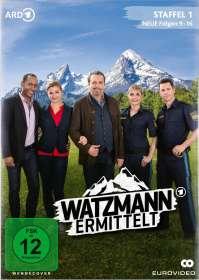 John Delbridge: Watzmann ermittelt Staffel 1 (Folgen 9-16), DVD