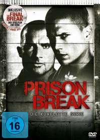 Prison Break (Komplette Serie + Spielfilm »Final Break«), DVD
