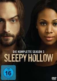Sleepy Hollow Staffel 3, DVD