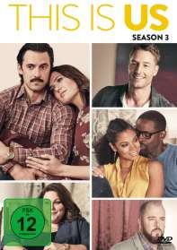 This is us Staffel 3, DVD
