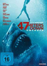 Johannes Roberts: 47 Meters Down: Uncaged, DVD