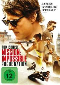 Christopher McQuarrie: Mission: Impossible - Rogue Nation, DVD