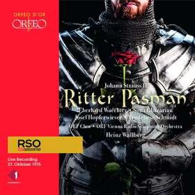 Johann Strauss II (1825-1899): Ritter Pasman, CD