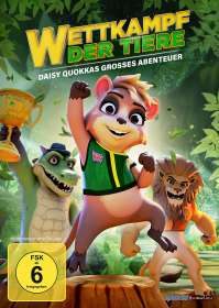 Ricard Cussó: Wettkampf der Tiere - Daisy Quokkas grosses Abenteuer, DVD
