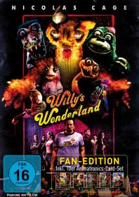 Kevin Lewis: Willy's Wonderland (Fan-Edition), DVD