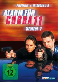 Alarm für Cobra 11 Staffel 1, DVD