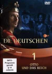 Olaf Götz Christian Twente Stephan Koester Erica von Moeller Robert Wiezorek : Die Deutschen Teil 1: Otto und das Reich, DVD