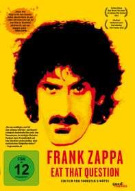 Thorsten Schütte: Frank Zappa - Eat That Question (OmU), DVD