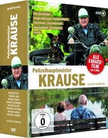 Bernd Böhlich: Polizeihauptmeister Krause (8 Filme) (mit signiertem Foto, exklusiv für jpc), DVD