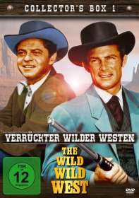 Irving J. Moore: The Wild Wild West - Verrückter Wilder Westen Collector's Box 1, DVD