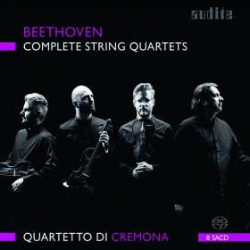 Ludwig van Beethoven (1770-1827): Streichquartette Nr.1-16, SACD