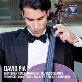 David Pia spielt Cellokonzerte, CD