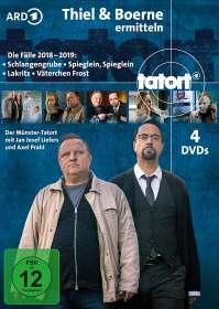 Tatort Münster - Thiel und Boerne ermitteln 2018-2019, DVD