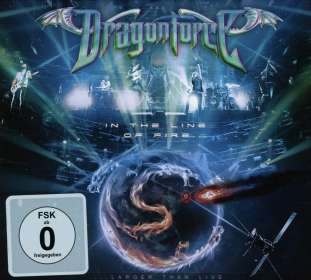 DragonForce: In The Line Of Fire...Larger Than Live 2014 (CD + DVD), CD