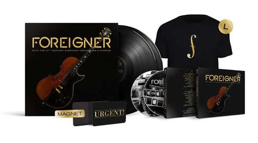 Foreigner: With The 21st Century Symphony Orchestra & Chorus (Limited Edition Boxset), LP