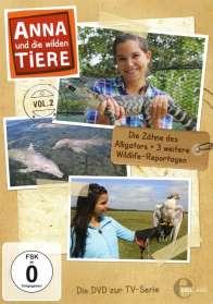 Anna und die wilden Tiere Vol. 2: Die Zähne des Alligators, DVD