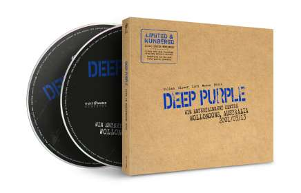 Deep Purple: Live In Wollongong 2001 (Limited Numbered Edition), CD