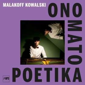 Malakoff Kowalski (geb. 1979): Onomatopoetika, CD