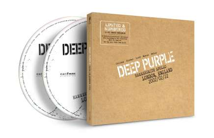 Deep Purple: Live In London 2002 (Limited Numbered Edition), CD
