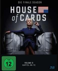 House Of Cards Season 6 (finale Season) (Blu-ray), BR