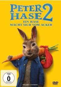 Will Gluck: Peter Hase 2 - Ein Hase macht sich vom Acker, DVD