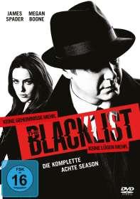 The Blacklist Staffel 8, DVD